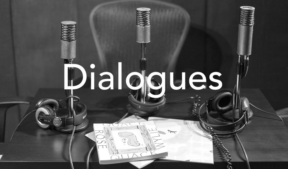 Dialogues is a podcast produced by David Zwirner